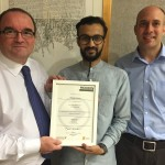 Scottish Parliament Modern Apprentice Awarded Level 3 Facilities Management Certificates