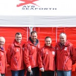 Albion Environmental proud sponsors of Ayr Seaforth AC Coach Jackets